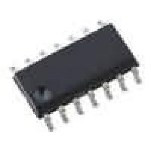74ABT74D-SMD IC číslicový D flip-flop 2 kanály BiCMOS SO14