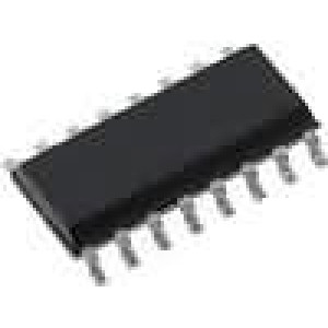 CD4017BM IC číslicový decade counter, divider CMOS SOP16