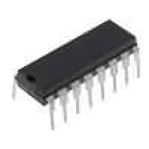 CD74HC4543E IC číslicový BCD to 7 segment, decoder, driver, latch DIP16