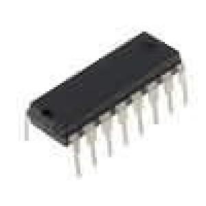 HEF4049BP IC číslicový NOT 6 kanálů Vstupy:1 CMOS DIP16