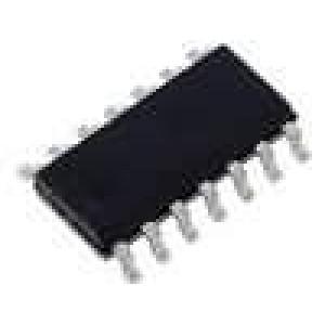 HEF4066BT IC číslicový analog, switch Kanály:4 CMOS SO14