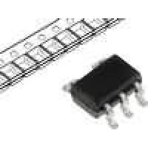 NC7S00P5 IC číslicový NAND Kanály:1 CMOS SC70-5 2-6VDC 20mA 6,5V