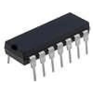 SN74AHC125N IC číslicový NAND Kanály:4 DIP14