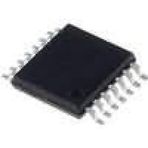 SN74LVC125APW IC číslicový 3-state, bus buffer Kanály:4 TSSOP14