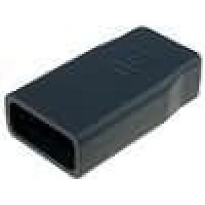 Krabička univerzální X:48mm Y:99mm Z:24mm plast černá
