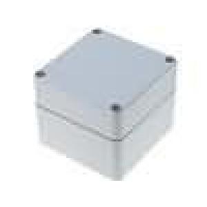 Krabička univerzální EURONORD X:80mm Y:82mm Z:65mm ABS šedá IK07