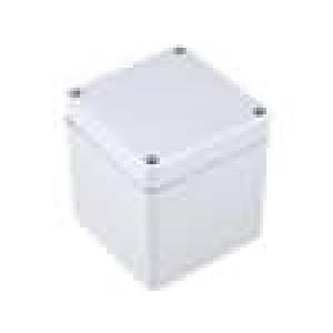 Krabička univerzální EURONORD X:80mm Y:82mm Z:85mm ABS šedá IK07
