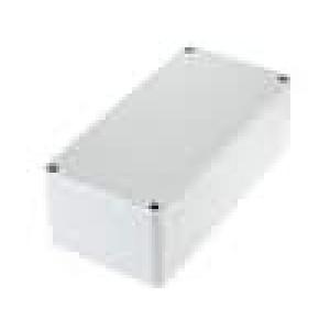 Krabička univerzální EURONORD X:80mm Y:160mm Z:55mm ABS šedá