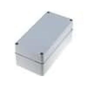 Krabička univerzální EURONORD X:80mm Y:160mm Z:65mm ABS šedá