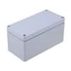 Krabička univerzální EURONORD X:80mm Y:160mm Z:85mm ABS šedá