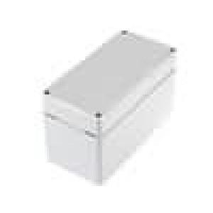 Krabička univerzální EURONORD X:80mm Y:160mm Z:95mm ABS šedá