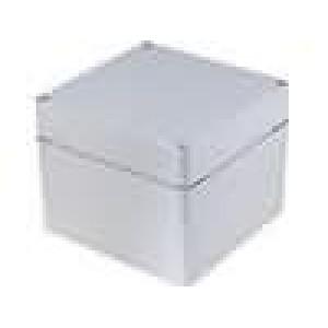 Krabička univerzální EURONORD X:120mm Y:122mm Z:95mm ABS šedá