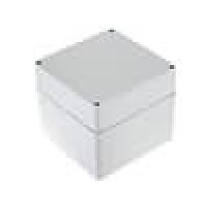 Krabička univerzální EURONORD X:120mm Y:122mm Z:105mm ABS šedá