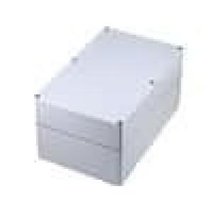 Krabička univerzální EURONORD X:160mm Y:250mm Z:125mm ABS šedá