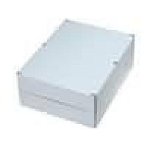 Krabička univerzální EURONORD X:230mm Y:300mm Z:110mm ABS šedá