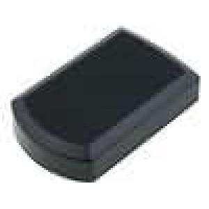 Krabička univerzální X:57mm Y:92mm Z:21mm ABS černá 4 vruty