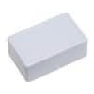 Krabička univerzální X:28mm Y:45mm Z:18mm ABS šedá 2 vruty