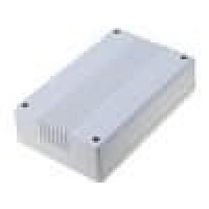 Krabička univerzální X:82mm Y:132mm Z:35mm ABS šedá