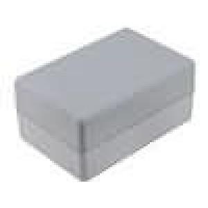 Krabička univerzální X:75mm Y:114mm Z:56mm ABS šedá