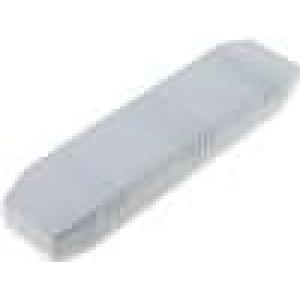 Kryt speciální X:40mm Y:155mm Z:20mm ABS šedá 2 vruty