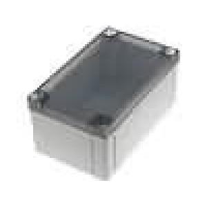 Krabička univerzální MNX X:130mm Y:130mm Z:60mm ABS šedá IK07