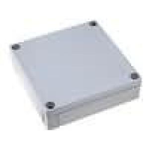 Krabička univerzální MNX X:130mm Y:130mm Z:35mm ABS šedá IK07