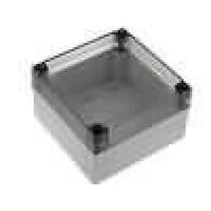 Krabička univerzální MNX X:130mm Y:130mm Z:75mm ABS šedá IK07