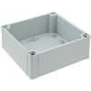 Krabička univerzální MNX X:130mm Y:130mm Z:50mm ABS šedá IK07