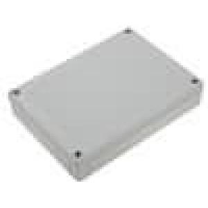 Krabička univerzální MNX X:130mm Y:180mm Z:35mm ABS šedá IK07