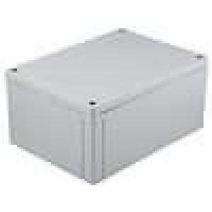 Krabička univerzální MNX X:130mm Y:180mm Z:85mm ABS šedá IK07