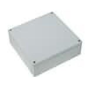 Krabička univerzální MNX X:180mm Y:180mm Z:60mm ABS šedá IK07