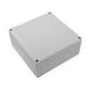 Krabička univerzální MNX X:180mm Y:180mm Z:75mm ABS šedá IK07