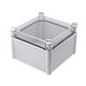 Krabička univerzální SOLID X:188mm Y:188mm Z:130mm ABS šedá IK08