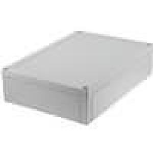 Krabička univerzální MNX X:180mm Y:255mm Z:63mm ABS šedá IK07