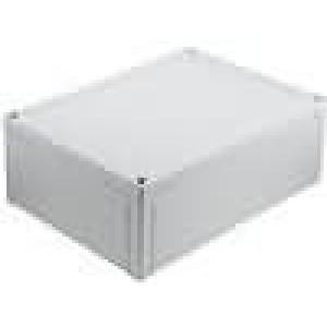 Krabička univerzální MNX X:180mm Y:255mm Z:88mm ABS šedá IK07