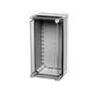Krabička univerzální SOLID X:188mm Y:378mm Z:180mm ABS šedá IK08