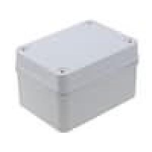 Krabička univerzální PICCOLO X:80mm Y:110mm Z:65mm ABS šedá IK07