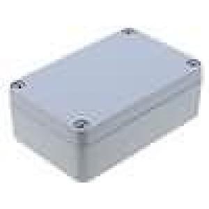 Krabička univerzální ALUEIN X:64mm Y:98mm Z:34mm hliník šedá