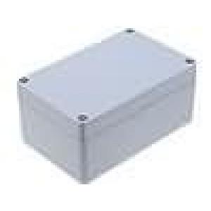 Krabička univerzální ALUEIN X:80mm Y:125mm Z:57mm hliník šedá