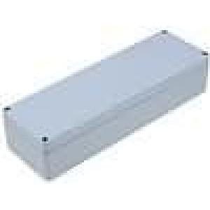 Krabička univerzální ALUEIN X:80mm Y:250mm Z:54mm hliník šedá