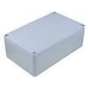 Krabička univerzální ALUEIN X:160mm Y:260mm Z:90mm hliník šedá