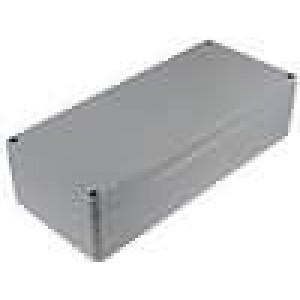 Krabička univerzální ALUEIN X:160mm Y:360mm Z:90mm hliník šedá