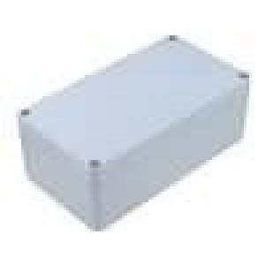 Krabička univerzální ALUEIN X:120mm Y:220mm Z:81mm hliník šedá