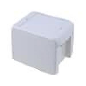 Krabička univerzální BOCUBE X:80mm Y:113mm Z:90mm ABS šedá