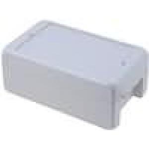 Krabička univerzální BOCUBE X:80mm Y:151mm Z:60mm ABS šedá