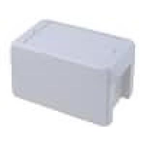 Krabička univerzální BOCUBE X:80mm Y:151mm Z:90mm ABS šedá