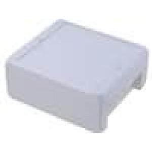Krabička univerzální BOCUBE X:125mm Y:151mm Z:60mm ABS šedá