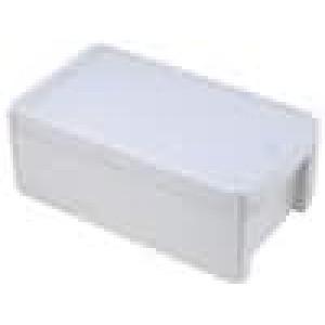 Krabička univerzální BOCUBE X:125mm Y:231mm Z:90mm ABS šedá