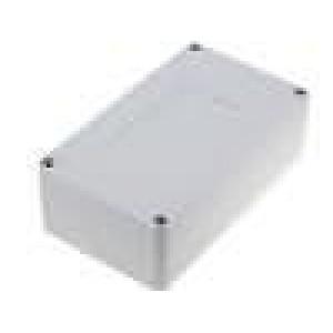 Krabička univerzální X:82mm Y:140mm Z:45mm ABS šedá
