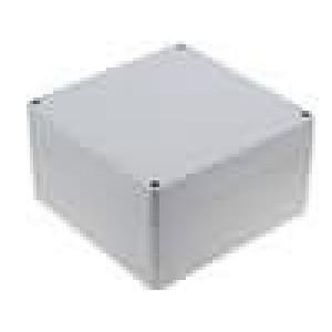 Krabička univerzální X:160mm Y:160mm Z:90mm ABS šedá